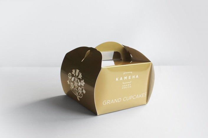 Edle Cupcake-Verpackungen für das Kameha Hotel